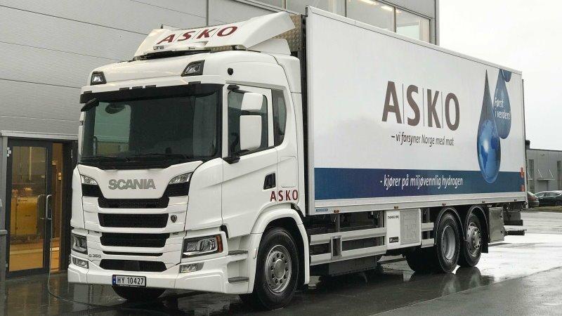 Scania começar a testar caminhões a hidrogênio na Noruega