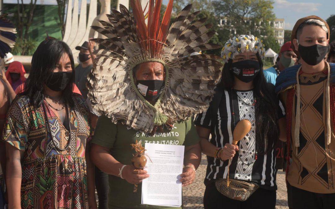 Carta: Sociedade Civil repudia violência contra indígenas em Brasília