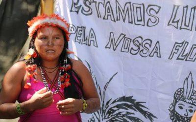 Supostos garimpeiros incendeiam casa de Maria Leusa, coordenadora da Associação das Mulheres Munduruku