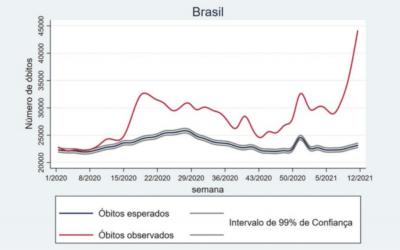 Estudo: 120 mil vidas poderiam ter sido poupadas no 1° ano de pandemia no Brasil