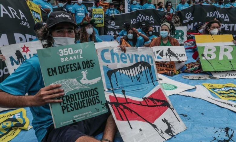 Brazil oil auction draws scant interest